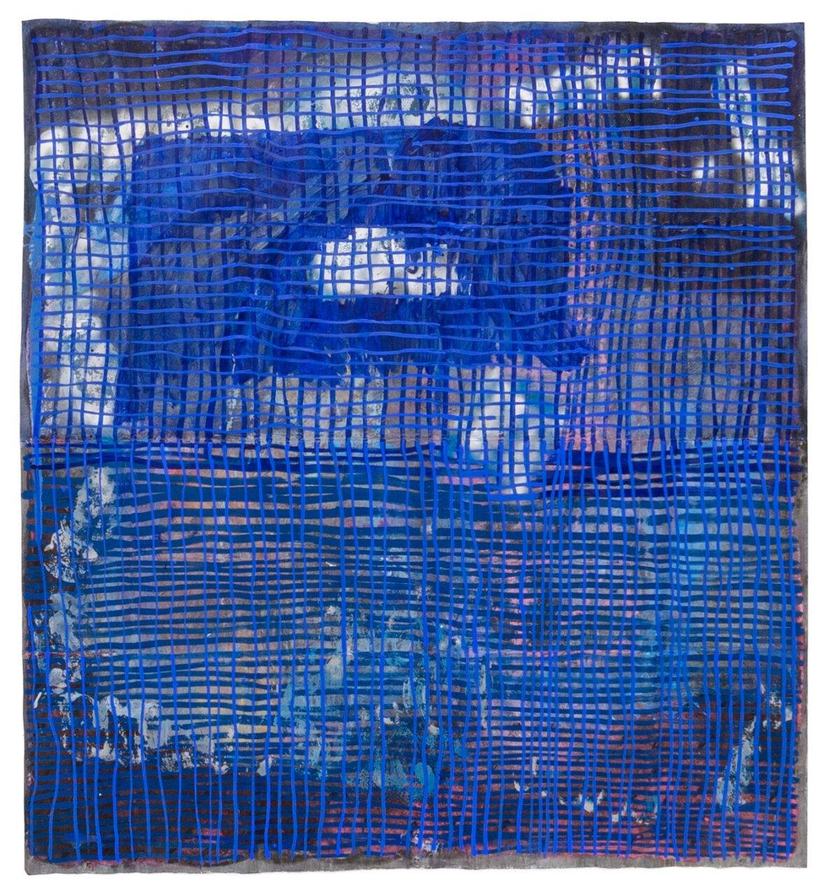 hideout note, 2021, oil on paper, 250 x 218 cm