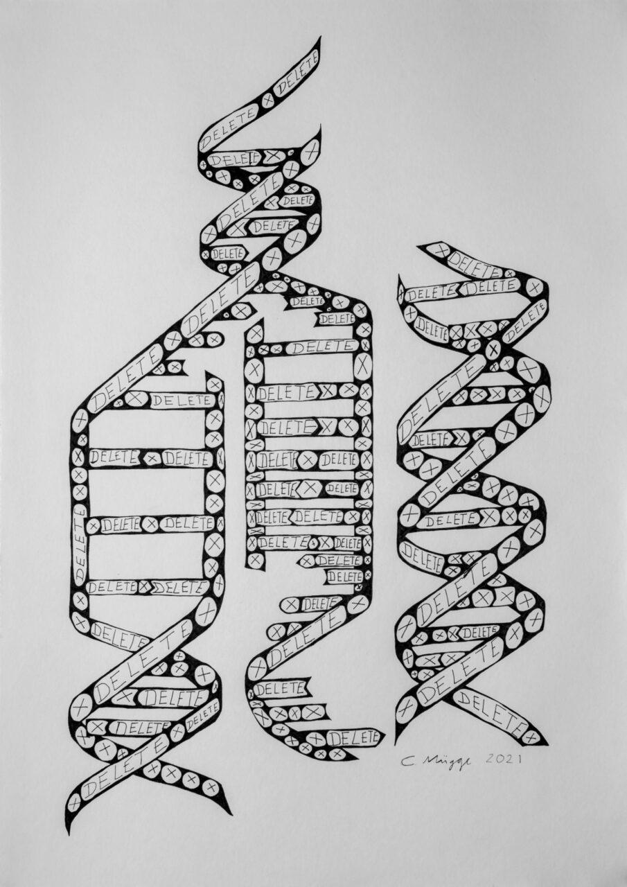 Delete DNA | Christoph Mügge | available artwork