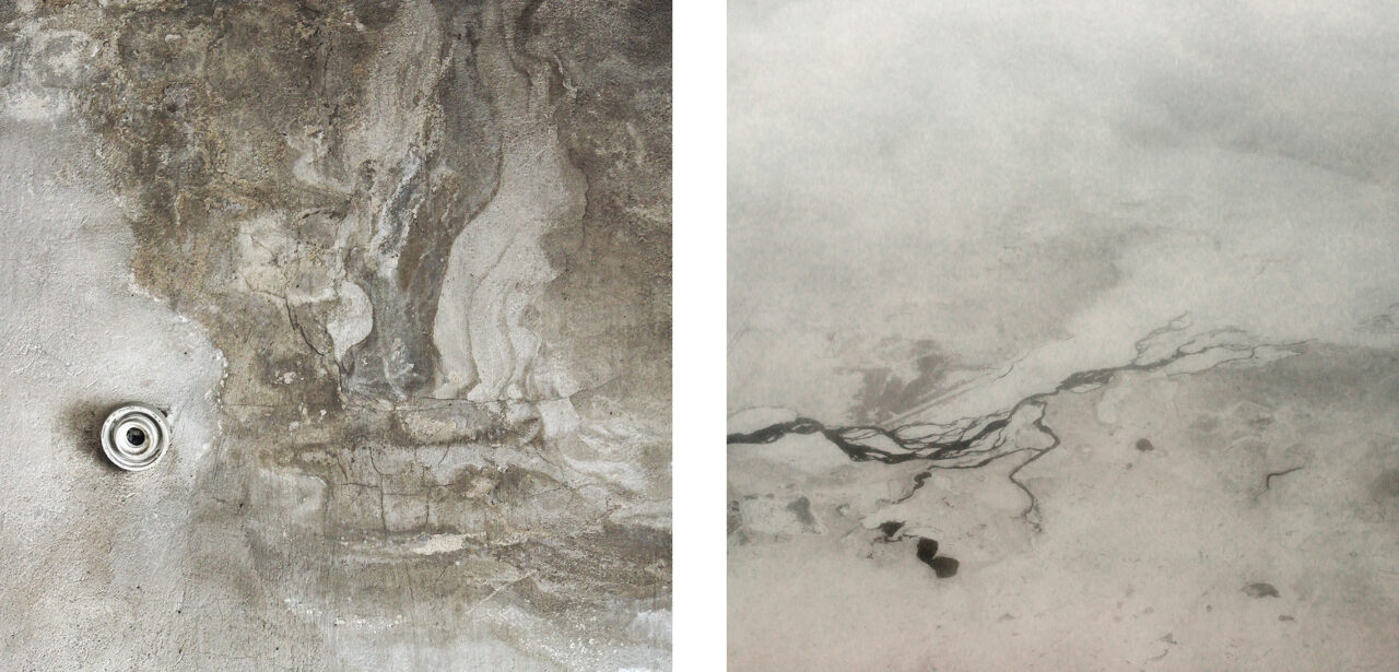 #10 from the series Mimesis (diptych)