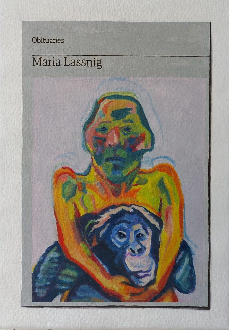 Obituary: Maria Lassnig | Hugh Mendes | available artwork