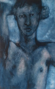 broken blue | Jan Ziegler | available artwork