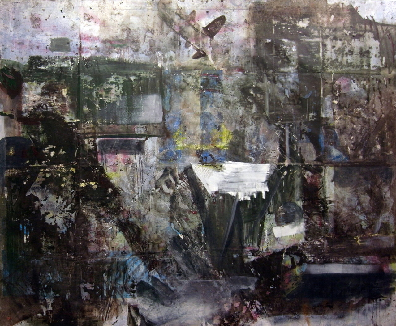 O.T. 2011-21, Oil on Canvas, 3200/5000 cm